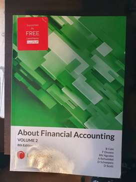 FAC1602: About financial accounting vol 2, 8th edition