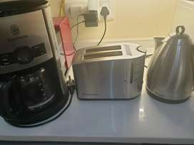 Russell Hobbs Toaster Kettle Coffee Machine