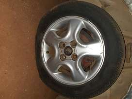 Vw body and mag wheels