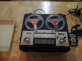 Pilot reel to reel player and recorder