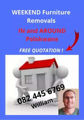 Weekend Furniture Removals