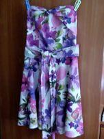 Sukienka bez ramiączek Orsay w przepiękny wzór kwiatowy