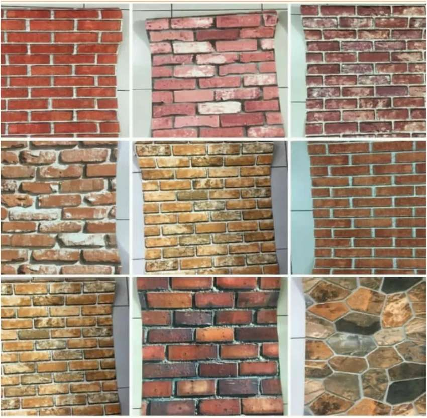All kinds of brick wallpapers available 0