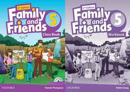Family and Friends 5: ClassBook + Workbook + CD 2-nd edition