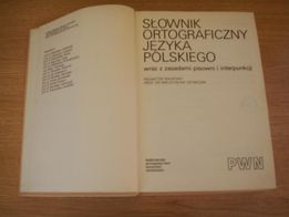 Słownik ortograficzny języka polskiego PWN