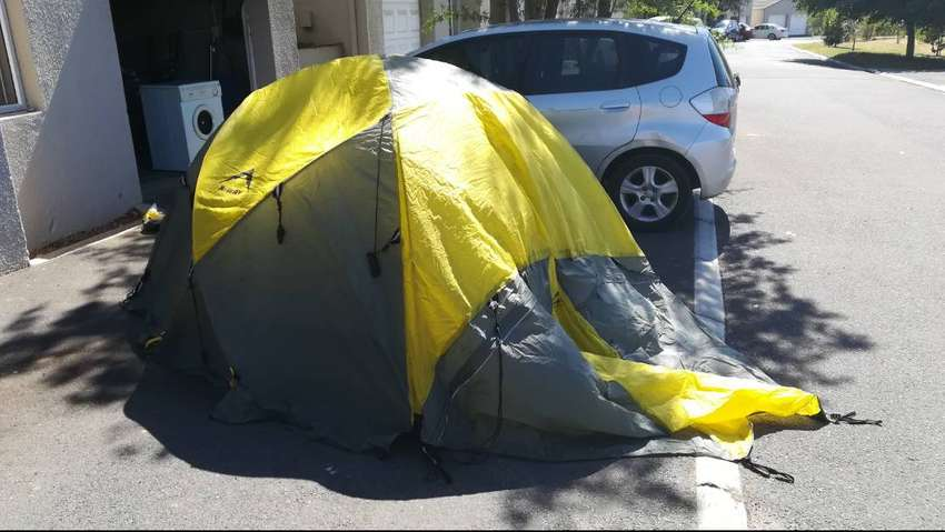 KWAY Expidition tent 3 Man 0