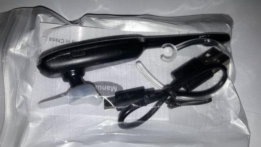 Bluetooth гарнитура HM1000 на 2 телефона Беспроводные наушники музыка Кривой Рог - изображение 5