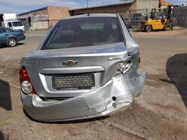 Chevrolet Sonic stripping for parts