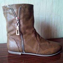 ТОРГ. Стильные, модные ботиночки. КОЖА 40р. 26, 5 см. Цена опт!