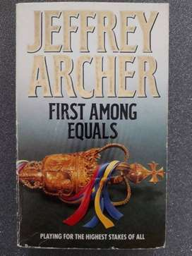 First Among Equals - Jeffrey Archer.