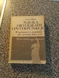 Książka o interpunkcji i ortografii