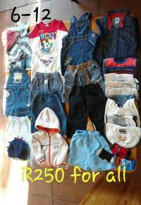 Image of Baby clothes from 3 upwards