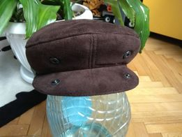 мужская утепленная кепка фуражка зима - осень размер 56 - 57
