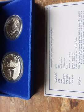 USA limited edition proof silver liberty dollar coin set