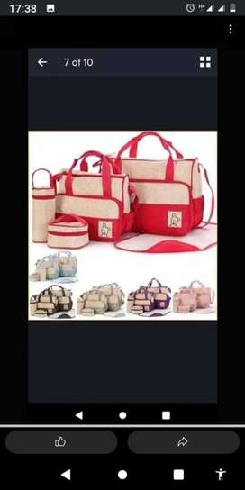 Baby bags 5 piece