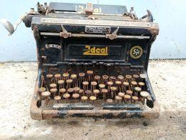Военная немецкая печатная машинка Ideal Carl E. Halbarth