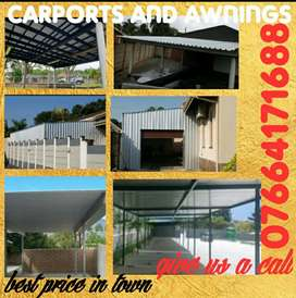 Carport and awnings