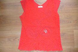 Piękna bluzka z koralikami rozm 42 NOWA