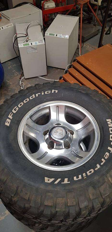 Secondhand Land Cruiser Tyres 285/75/16 Still in very Good Condition 0