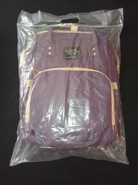 Baby diaper bag/backpack (assorted colours)