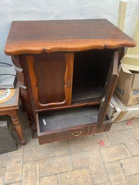Solid Wooden Free Standing Cupboard