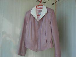 куртка женская кожаная 46 размер новая нарядная Турция качество