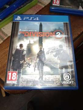 The Division 2 Ps4 physical copy