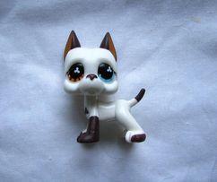 Pet Shop biały dog niemiecki LPS