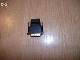 Переходник-адаптер HDMI (мама) - DVI (папа)