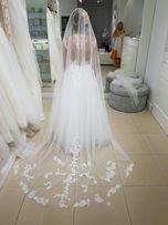 Sukienka ślubna roz 36 zwiewna i wygodna