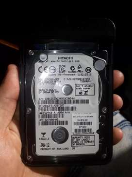 Hard drive good condition never used brand new