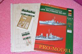Бумажная модель USS Selfridge DD 357 + все допы