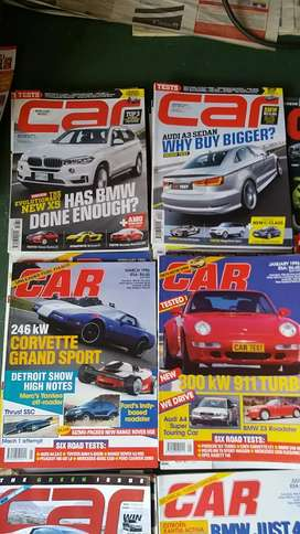 Car magazines for sale