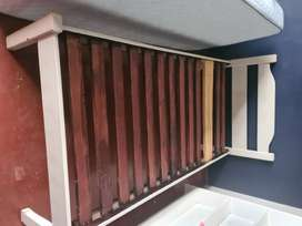 2 x Wooden Beds, with Cloud Nine Matras and protector R1350 each