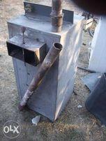 стальной твердотопливный котёл 16 кВт
