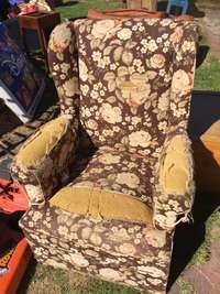 Image of Wingback chair for sale