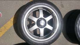 "20"" 6 Hole Bakkie Mags with tyres"