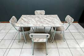 R750 for new 5pc budget cameo table and chairs