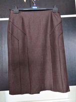 Spódnica- elegancka, ołówkowa, brąz z połyskiem (nowa)