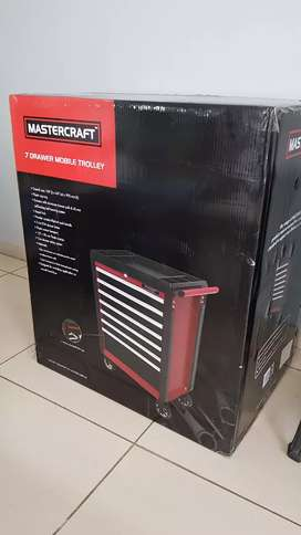 Mastercarft 7 draw tool trolley