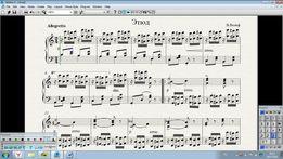 Компьютерный набор нот в Сибелиусе