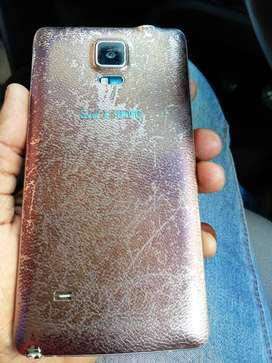Used Samsung Note 4 in good condition for sale