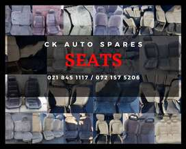 Seats for sale for most vehicles make and models.