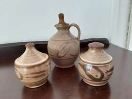 Liebermann pottery tableware set