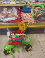 Rowerek 3 kołowy ze sterem Smart-Trike 3w1 Email