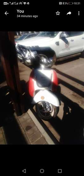 Big boy scooter for rent R500 for uber
