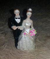 Верхушка на торт,статуэтка на торт,свадебный торт,топер,жених невеста