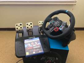 Logitech G29 Racing Steering wheel for PS3/ PS4