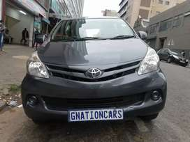Toyota Avanza 1.5sx 2014 model for SELL