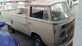 Vw baywindow single cab
